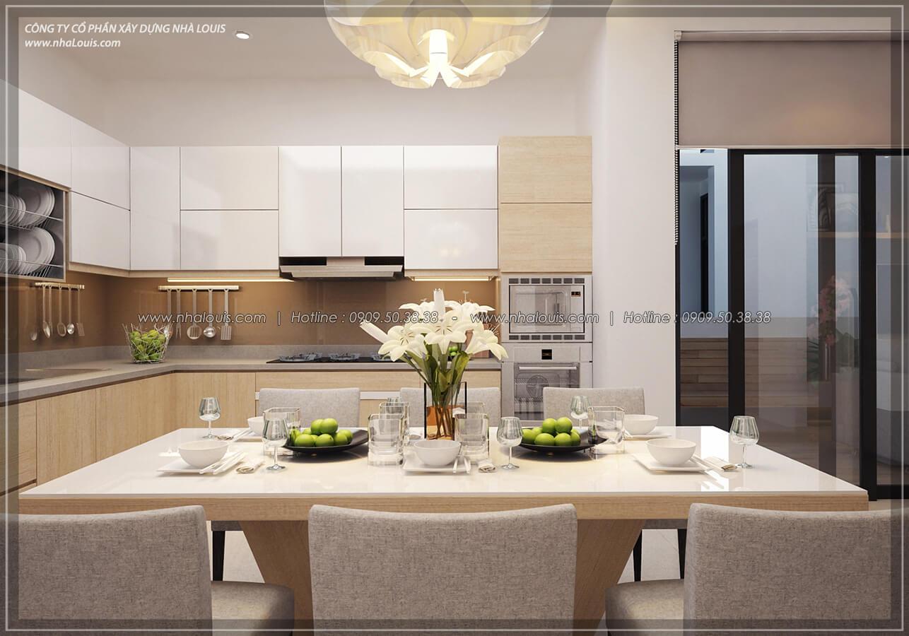 Bếp và phòng ăn Thiết kế nội thất biệt thự hiện đại đẹp tại dự án Lucasta Villa đẳng cấp - 17