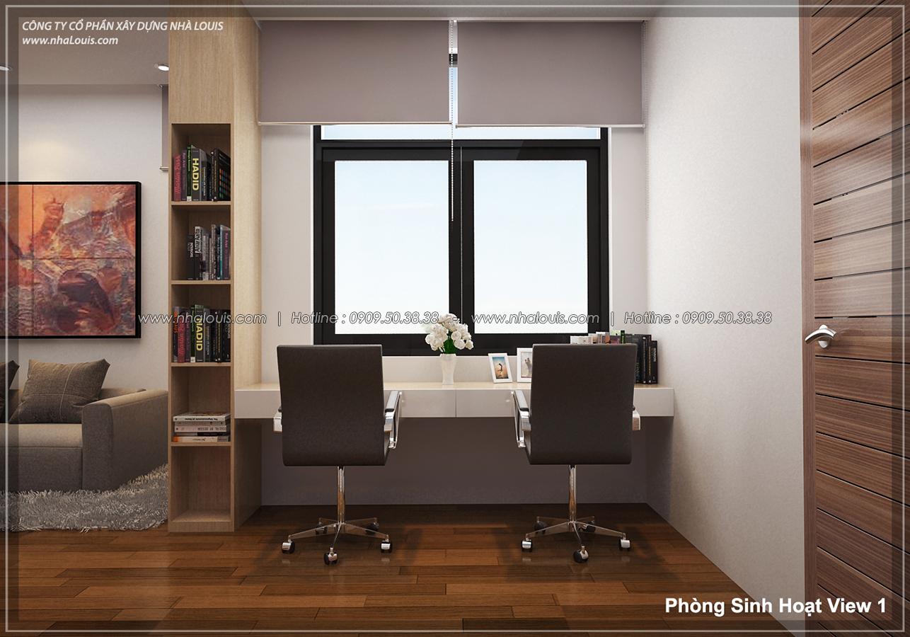 Thiết kế biệt thự 3 tầng đẹp tại dự án Lucasta Villa đẳng cấp - 19