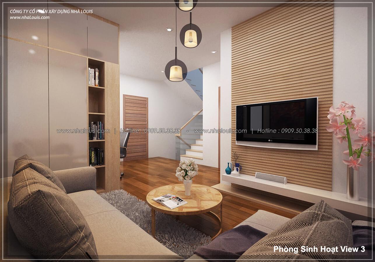Phòng sinh hoạt Thiết kế nội thất biệt thự hiện đại đẹp tại dự án Lucasta Villa đẳng cấp - 21