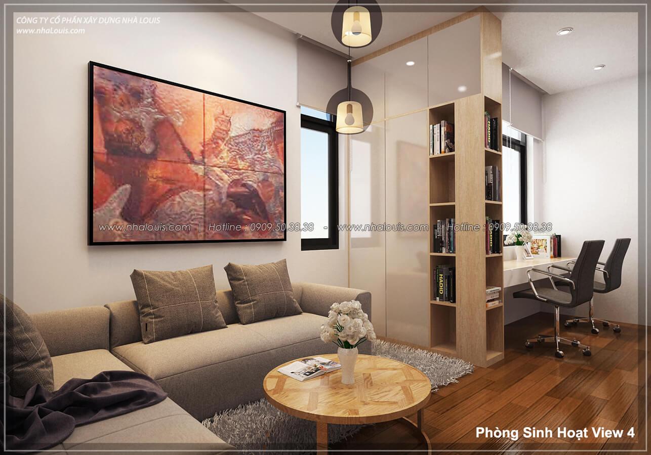 Phòng sinh hoạt Thiết kế nội thất biệt thự hiện đại đẹp tại dự án Lucasta Villa đẳng cấp - 22