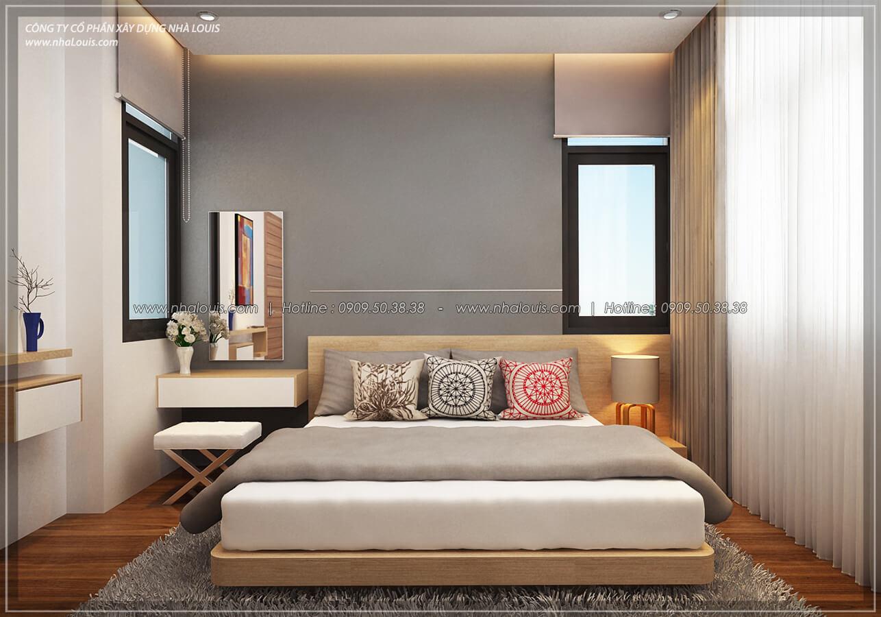 Phòng ngủ Thiết kế nội thất biệt thự hiện đại đẹp tại dự án Lucasta Villa đẳng cấp - 23