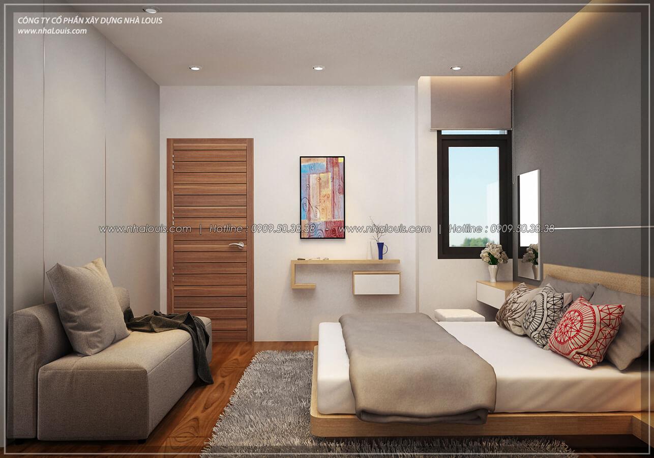 Phòng ngủ Thiết kế nội thất biệt thự hiện đại đẹp tại dự án Lucasta Villa đẳng cấp - 24