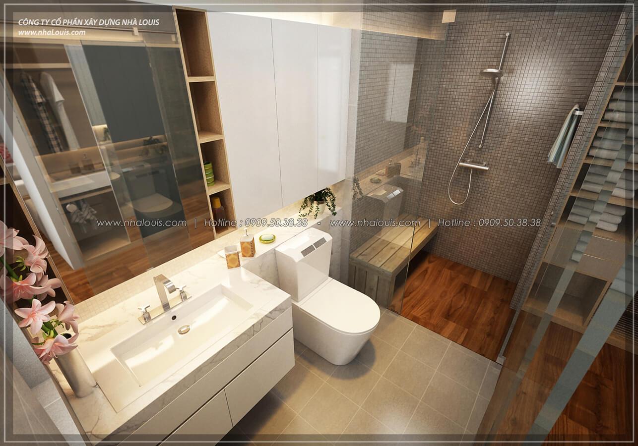Phòng tắm và WC Thiết kế nội thất biệt thự hiện đại đẹp tại dự án Lucasta Villa đẳng cấp - 27