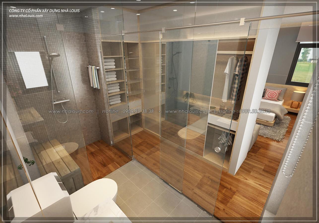 Phòng tắm và WC Thiết kế nội thất biệt thự hiện đại đẹp tại dự án Lucasta Villa đẳng cấp - 28