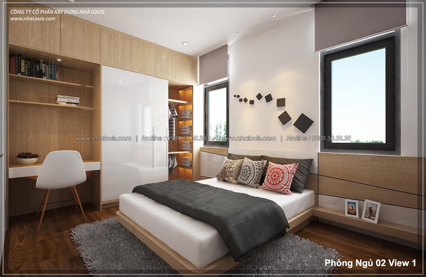 Thiết kế biệt thự 3 tầng đẹp tại dự án Lucasta Villa đẳng cấp - 29