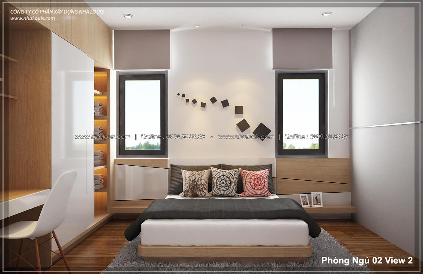 Phòng ngủ Thiết kế nội thất biệt thự hiện đại đẹp tại dự án Lucasta Villa đẳng cấp - 30