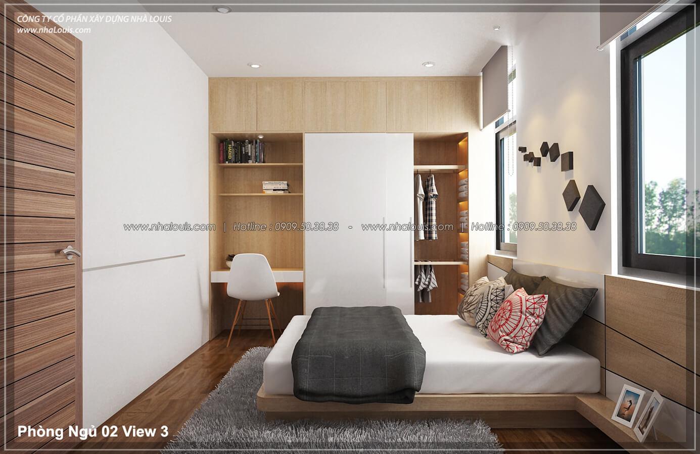 Phòng ngủ Thiết kế nội thất biệt thự hiện đại đẹp tại dự án Lucasta Villa đẳng cấp - 31