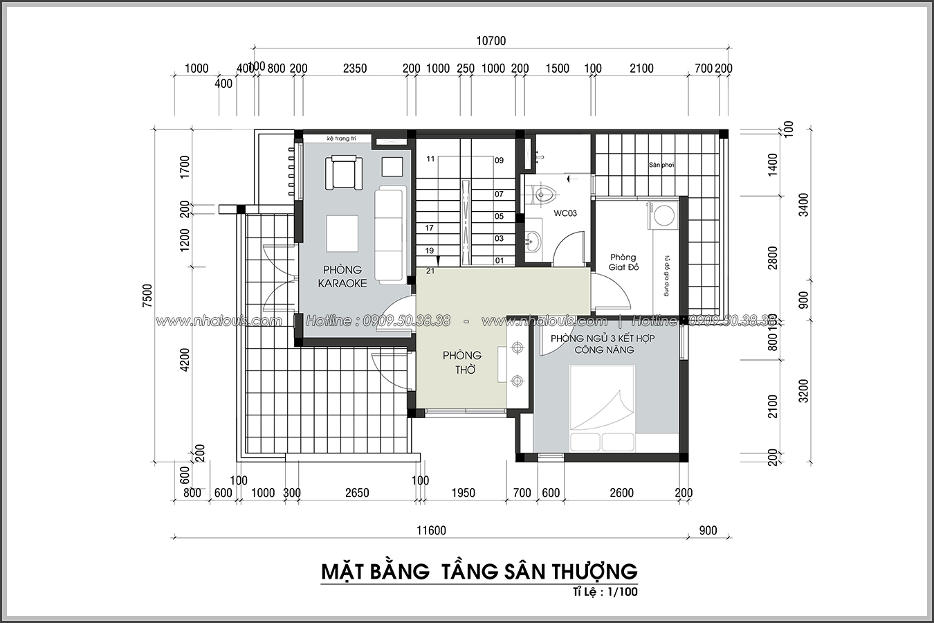 Thiết kế biệt thự 3 tầng đẹp tại dự án Lucasta Villa đẳng cấp - 35