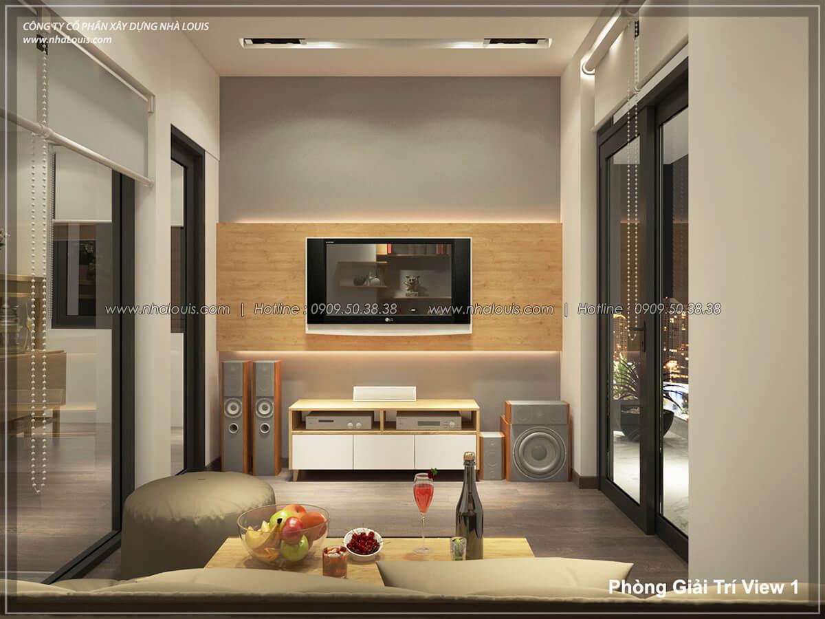 Phòng karaoke Thiết kế nội thất biệt thự hiện đại đẹp tại dự án Lucasta Villa đẳng cấp - 36