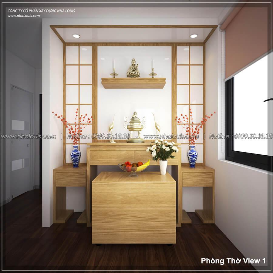 Phòng thờ Thiết kế nội thất biệt thự hiện đại đẹp tại dự án Lucasta Villa đẳng cấp - 38