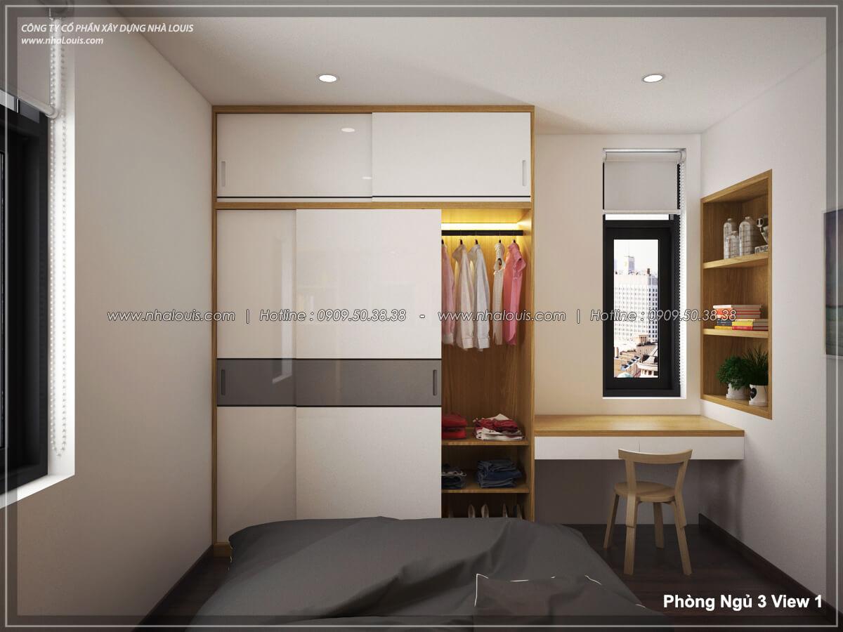Phòng ngủ Thiết kế nội thất biệt thự hiện đại đẹp tại dự án Lucasta Villa đẳng cấp - 40