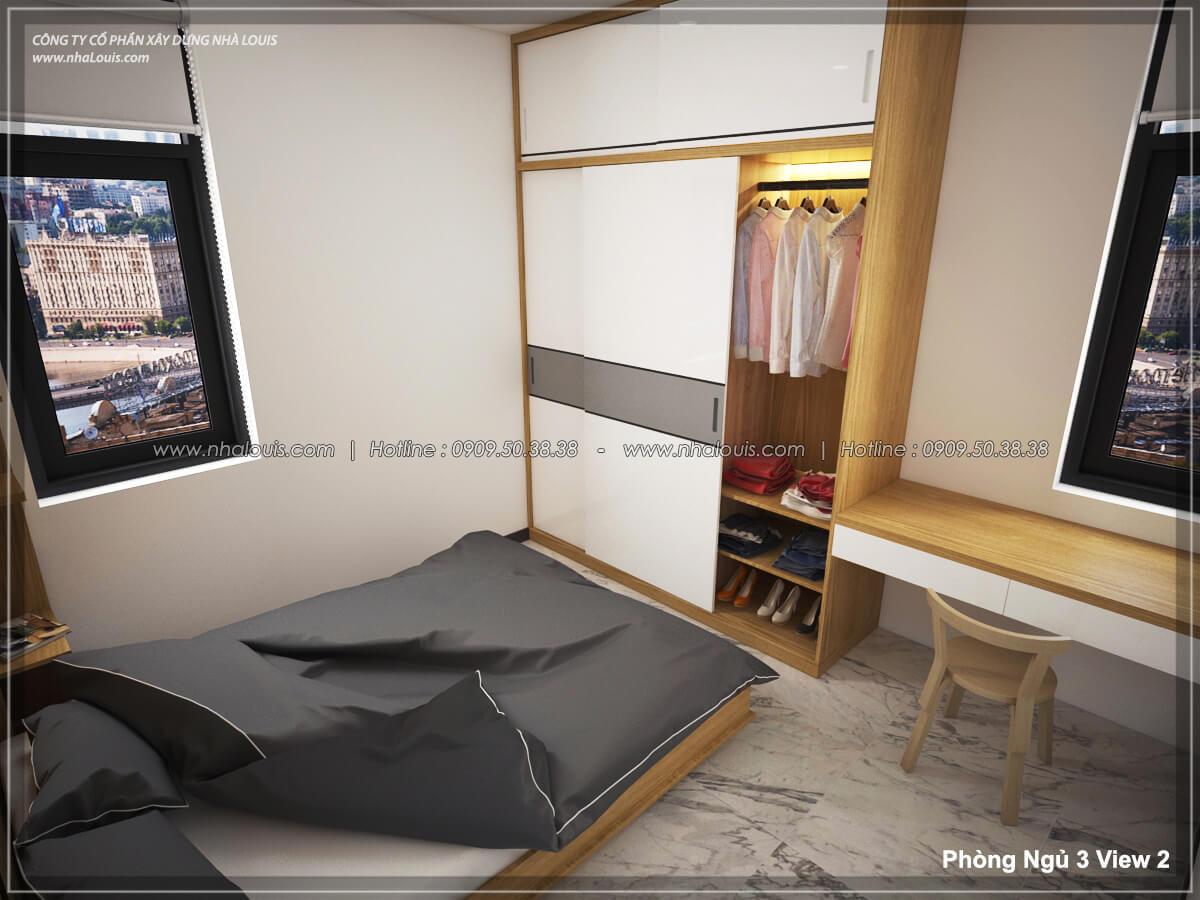 Phòng ngủ Thiết kế nội thất biệt thự hiện đại đẹp tại dự án Lucasta Villa đẳng cấp - 41