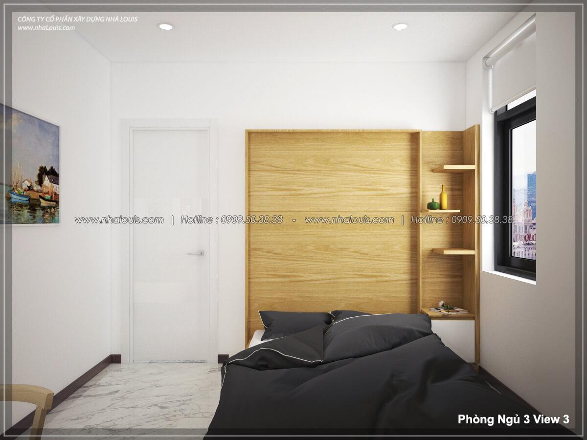 Phòng ngủ Thiết kế nội thất biệt thự hiện đại đẹp tại dự án Lucasta Villa đẳng cấp - 42