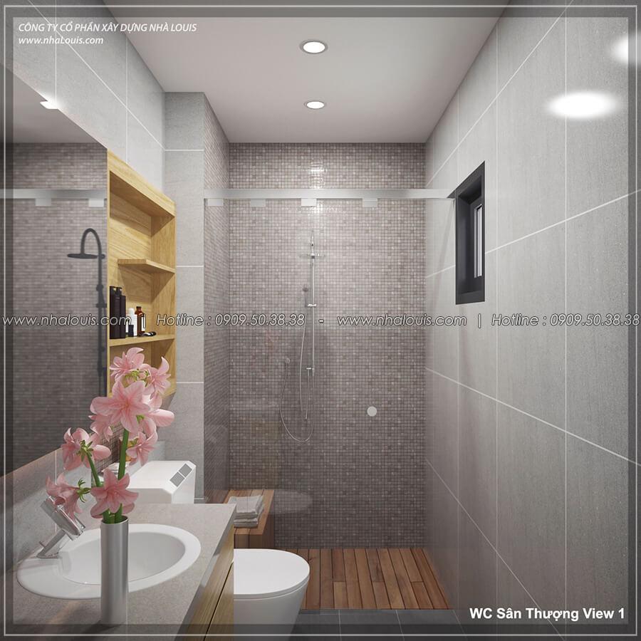Phòng tắm và WC Thiết kế nội thất biệt thự hiện đại đẹp tại dự án Lucasta Villa đẳng cấp - 44