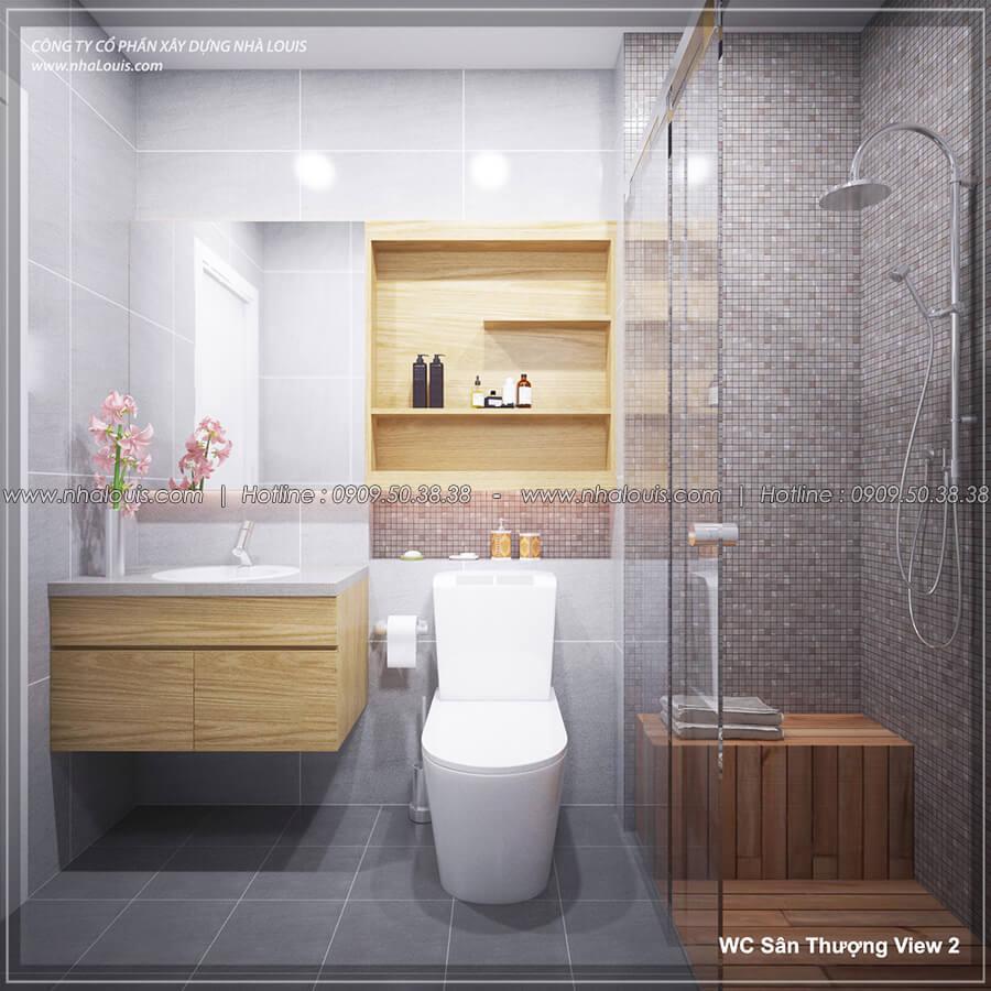 Phòng tắm và WC Thiết kế nội thất biệt thự hiện đại đẹp tại dự án Lucasta Villa đẳng cấp - 45