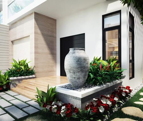 Thiết kế biệt thự 3 tầng đẹp tại dự án Lucasta Villa đẳng cấp