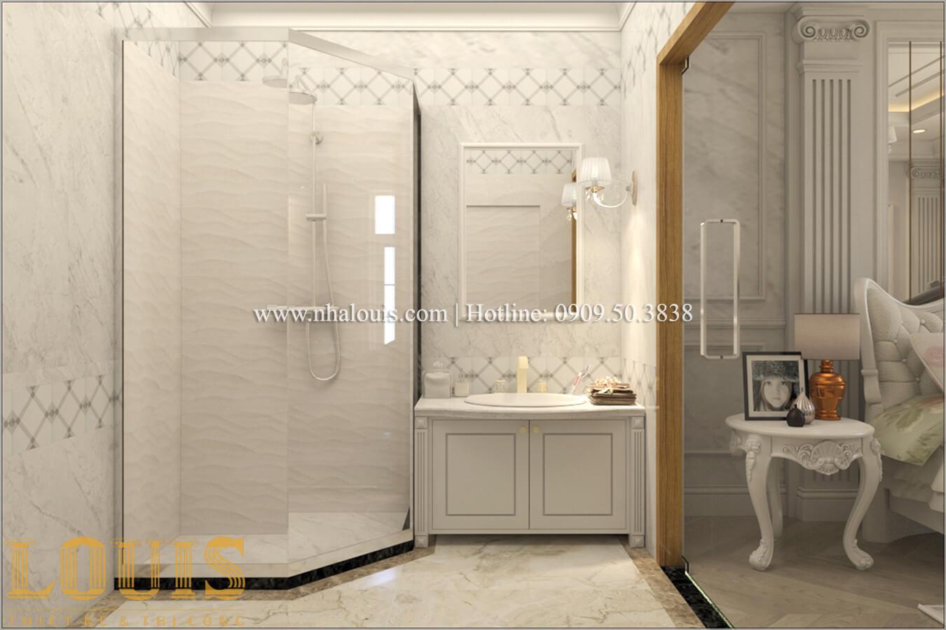 Phòng tắm Mẫu biệt thự đẹp 3 tầng ở Đồng Nai