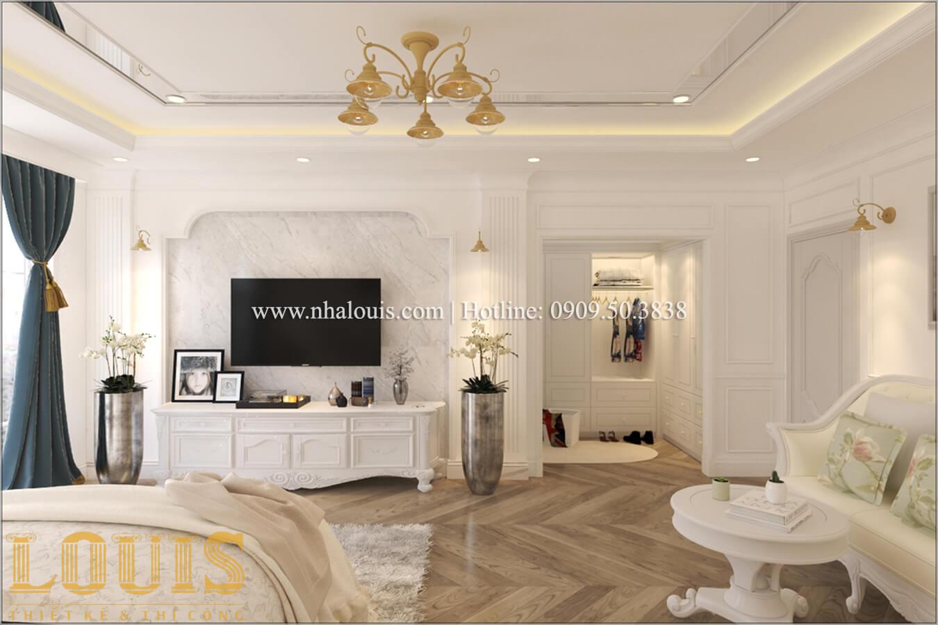 Phòng ngủ Mẫu biệt thự đẹp 3 tầng vừa ở vừa kinh doanh tại Đồng Nai