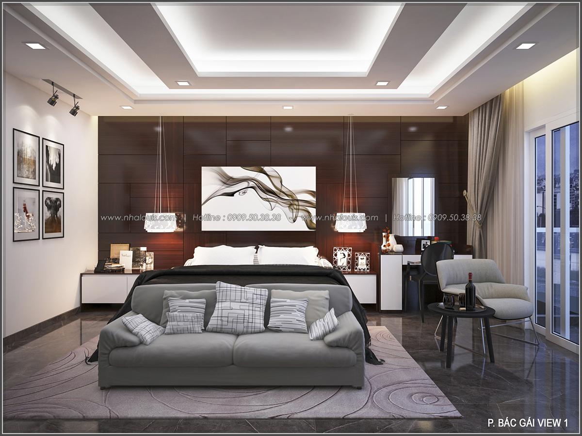 Thiết kế biệt thự có hồ bơi trong nhà ấn tượng tại quận Tân Bình - 12