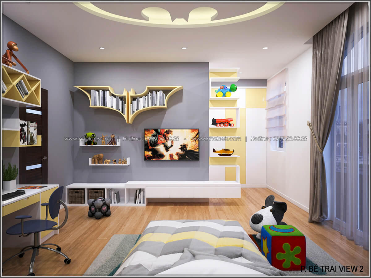Phòng ngủ con trai - 17