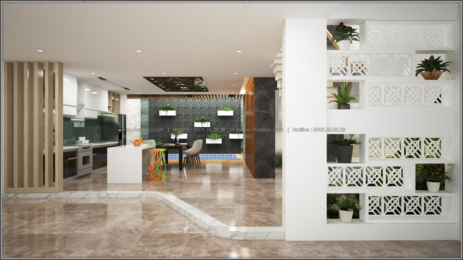 Thiết kế biệt thự có hồ bơi trong nhà ấn tượng tại quận Tân Bình - 5