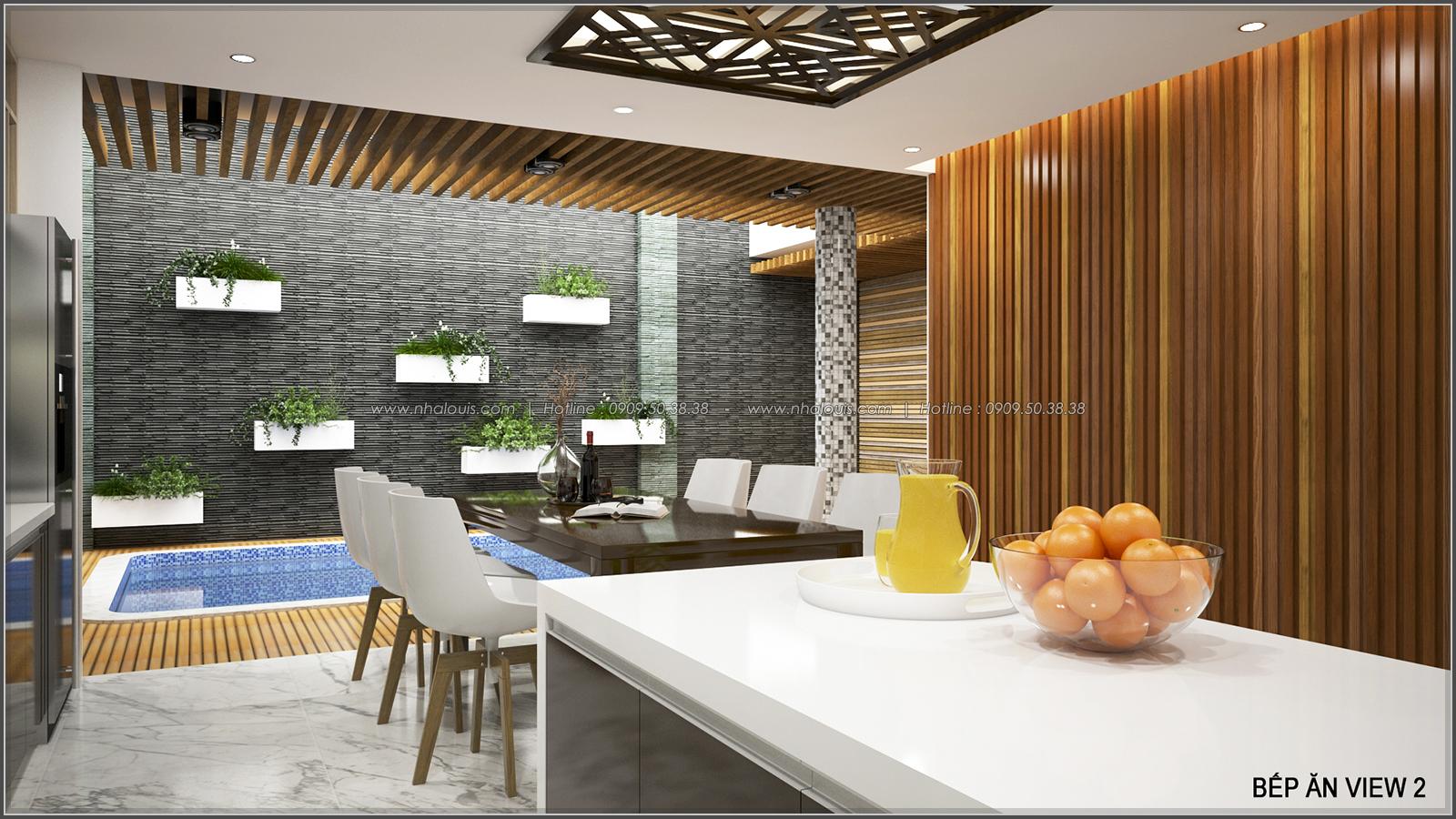 Thiết kế biệt thự có hồ bơi trong nhà ấn tượng tại quận Tân Bình - 7