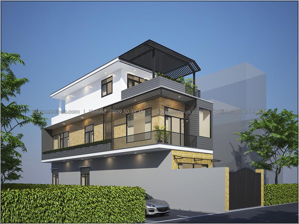Mặt tiền Thiết kế cải tạo nhà cũ thành mới đẹp hiện đại tại Bình Chánh - 01