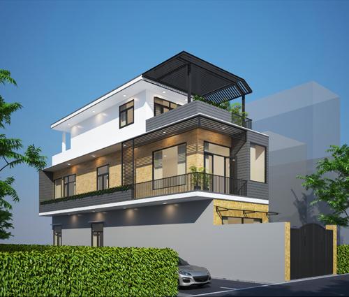 Thiết kế cải tạo nhà cũ thành mới đẹp hiện đại tại Bình Chánh