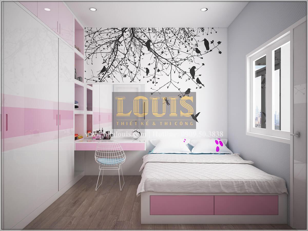 Phòng ngủ Thiết kế cải tạo nhà cũ thành mới đẹp hiện đại tại Bình Chánh