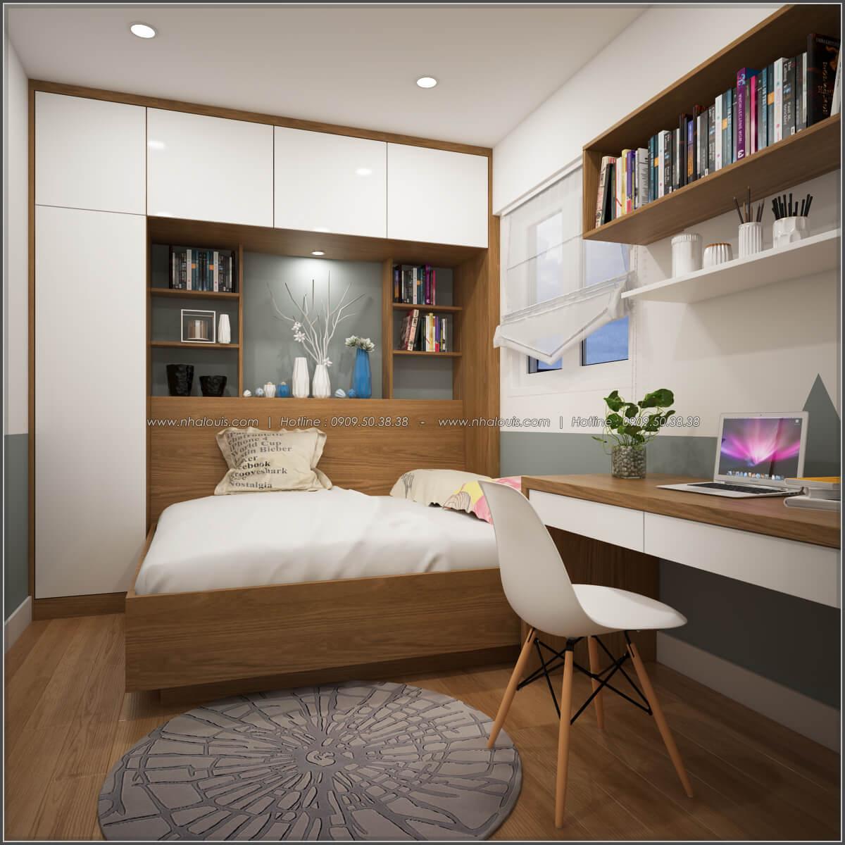 Phòng ngủ Thiết kế căn hộ chung cư 3 phòng ngủ Happy Valley quận 7 - 10