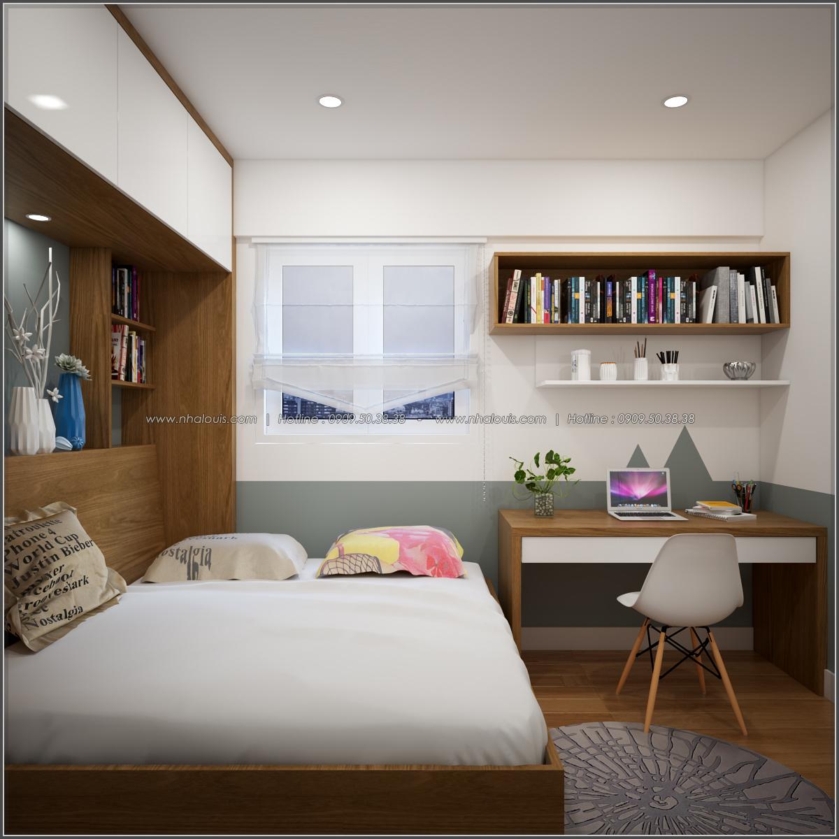 Thiết kế căn hộ chung cư 3 phòng ngủ Happy Valley quận 7 - 11