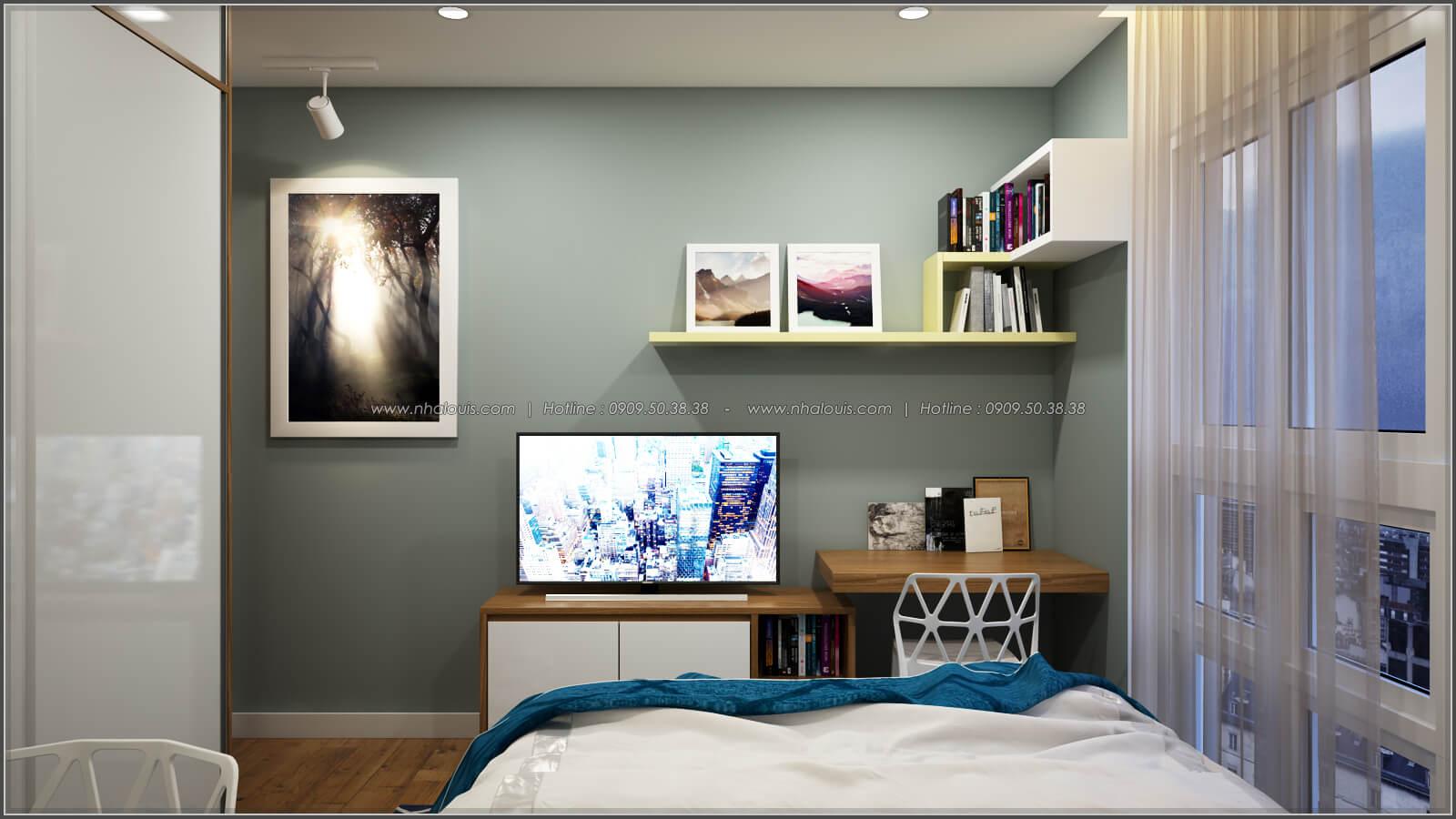 Phòng ngủ Thiết kế căn hộ chung cư 3 phòng ngủ Happy Valley quận 7 - 13