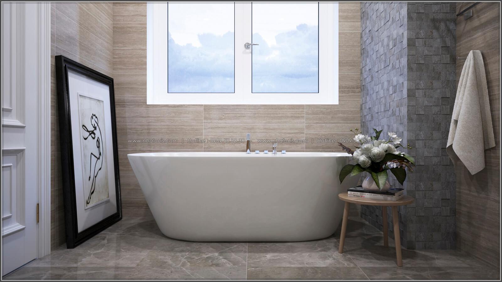 Phòng tắm Thiết kế căn hộ chung cư 3 phòng ngủ Happy Valley quận 7 - 14