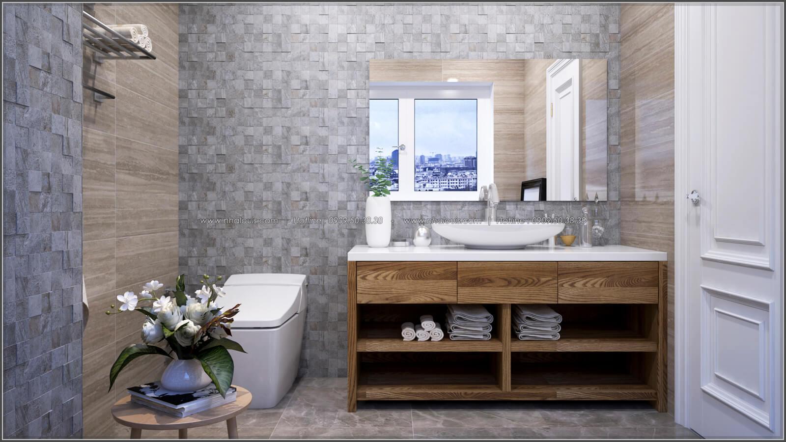 Phòng tắm + WC Thiết kế căn hộ chung cư 3 phòng ngủ Happy Valley quận 7 - 15