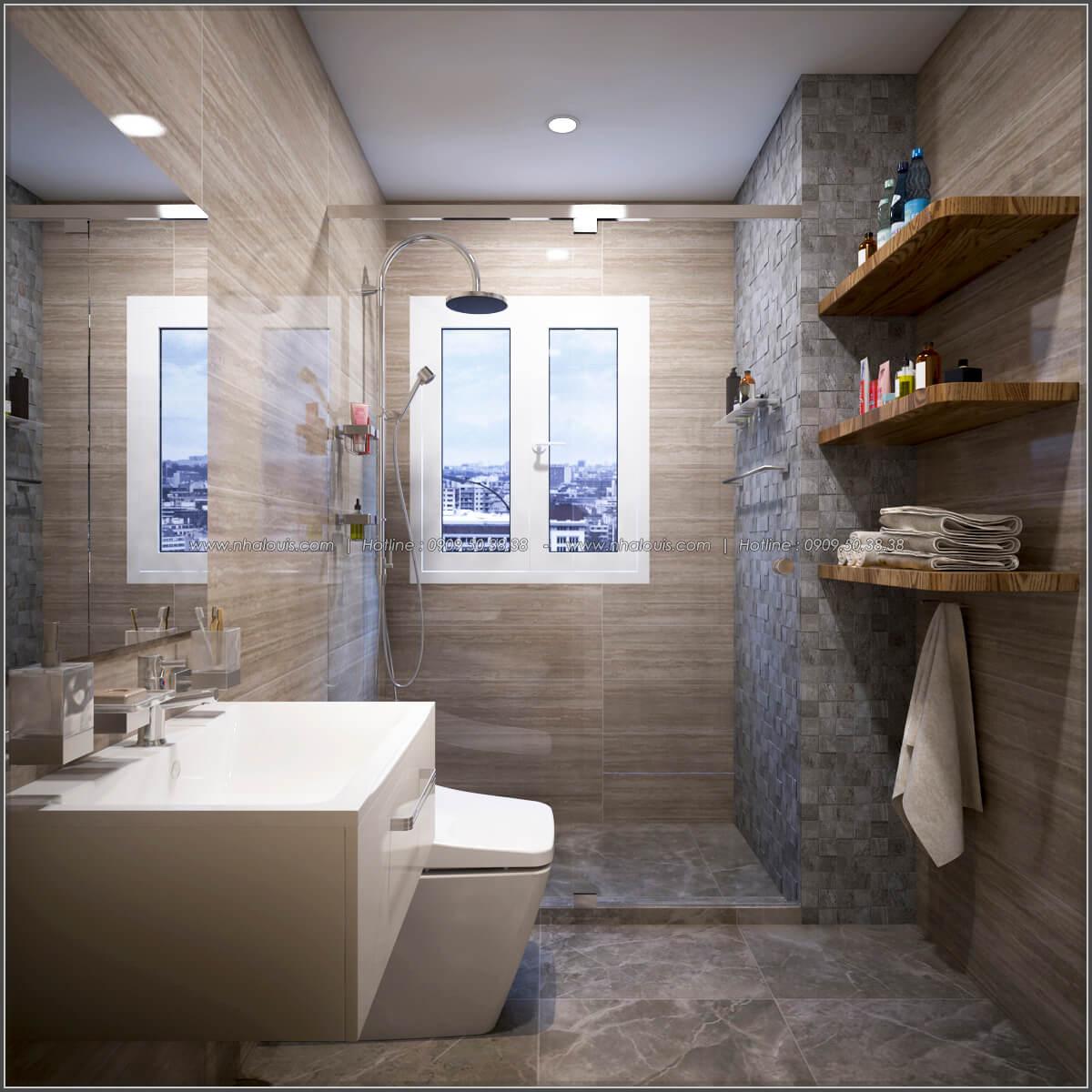 Phòng tắm + WC Thiết kế căn hộ chung cư 3 phòng ngủ Happy Valley quận 7 - 16