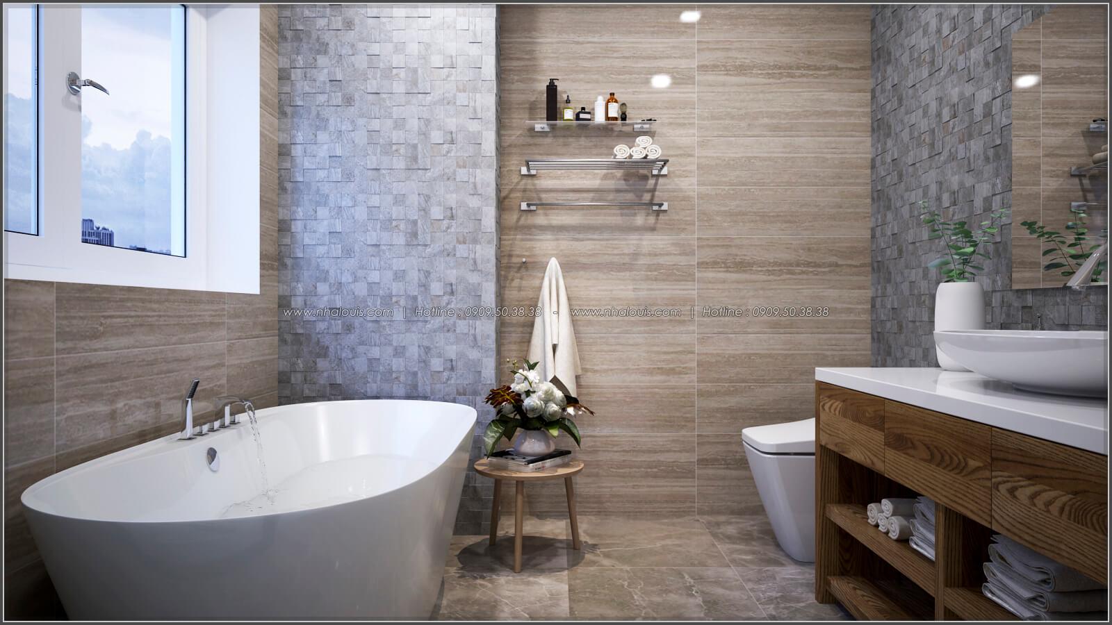 Phòng tắm + WC Thiết kế căn hộ chung cư 3 phòng ngủ Happy Valley quận 7 - 17