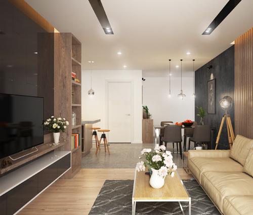 Thiết kế căn hộ Sunrise City 3 phòng ngủ với nội thất hoàn hảo tại Quận 7