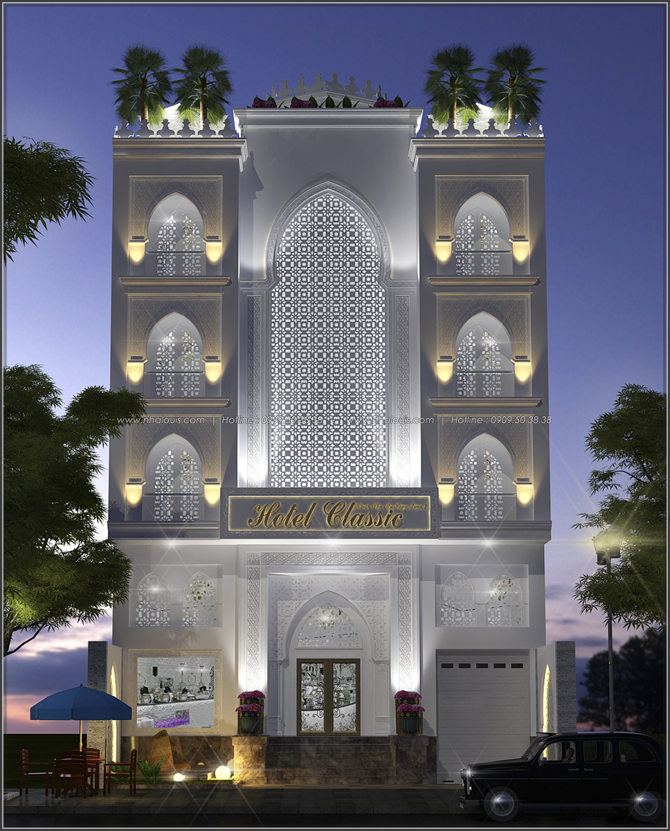 Thiết kế khách sạn cổ điển tại Phan Thiết đẹp lộng lẫy - 01