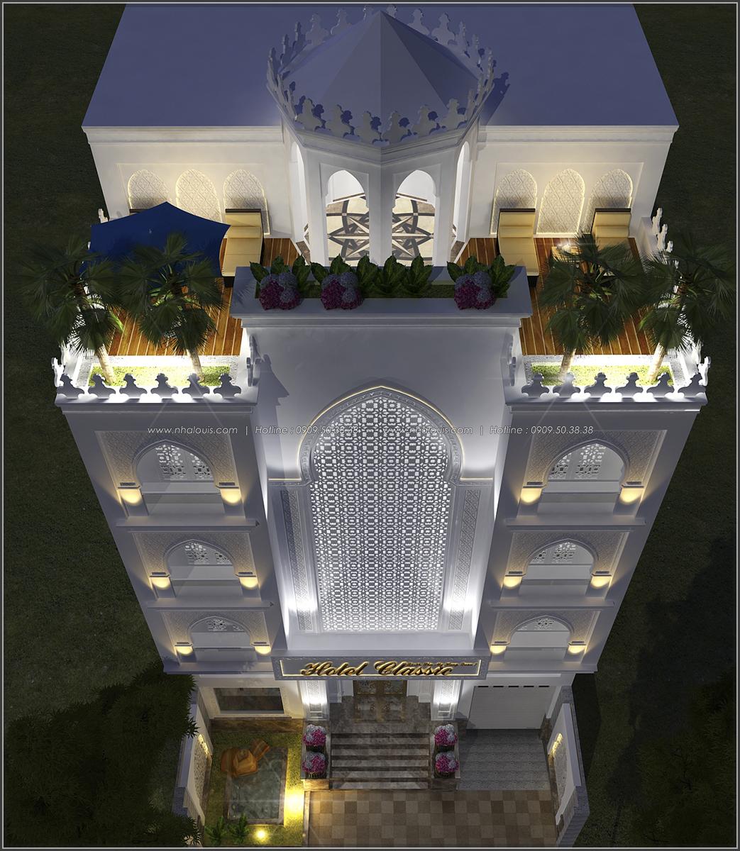 Thiết kế khách sạn cổ điển tại Phan Thiết đẹp lộng lẫy - 02