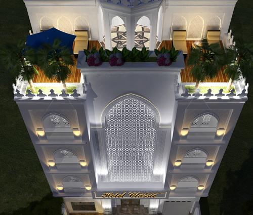 Thiết kế khách sạn cổ điển tại Phan Thiết đẹp lộng lẫy
