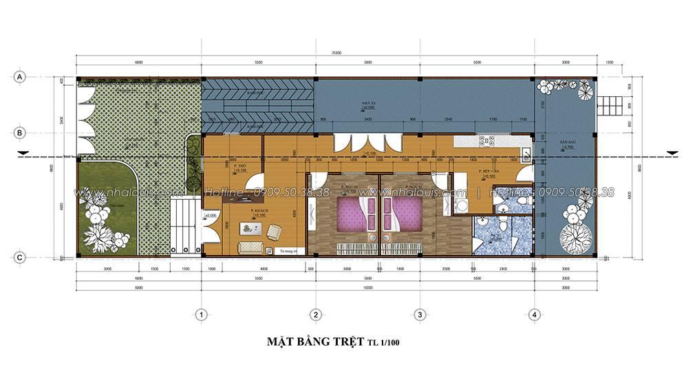 Thiết kế nhà cấp 4 đẹp mang phong cách hiện đại ở vùng quê Long An - 03