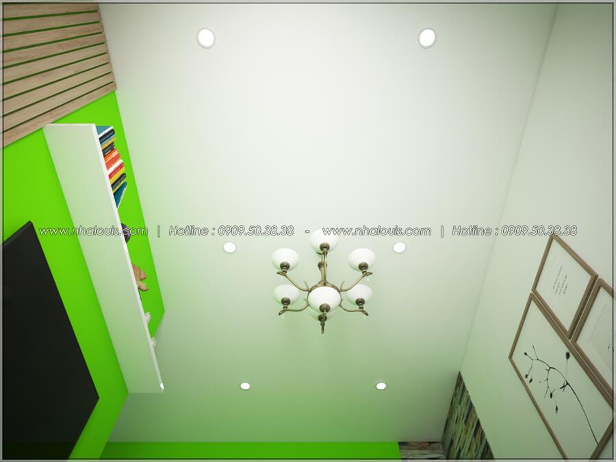 Phòng khách Thiết kế nhà cấp 4 đẹp mang phong cách hiện đại ở vùng quê Long An - 06