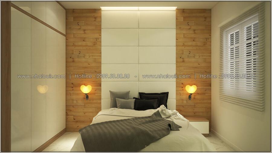 Phòng ngủ Thiết kế nhà cấp 4 đẹp mang phong cách hiện đại ở vùng quê Long An - 10