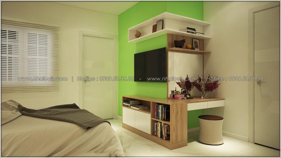 Phòng ngủ Thiết kế nhà cấp 4 đẹp mang phong cách hiện đại ở vùng quê Long An - 11