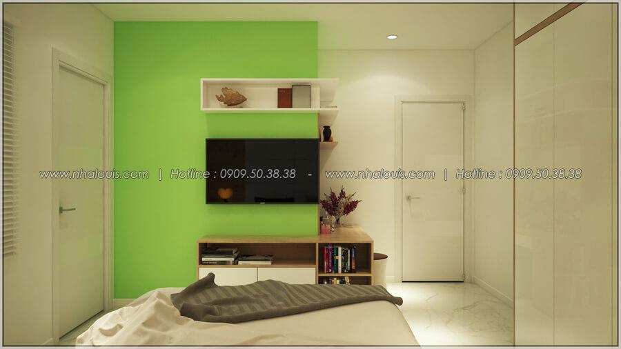 Phòng ngủ Thiết kế nhà cấp 4 đẹp mang phong cách hiện đại ở vùng quê Long An - 12