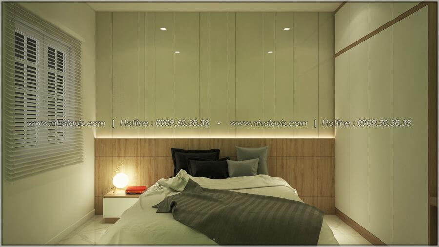 Phòng ngủ Thiết kế nhà cấp 4 đẹp mang phong cách hiện đại ở vùng quê Long An - 14