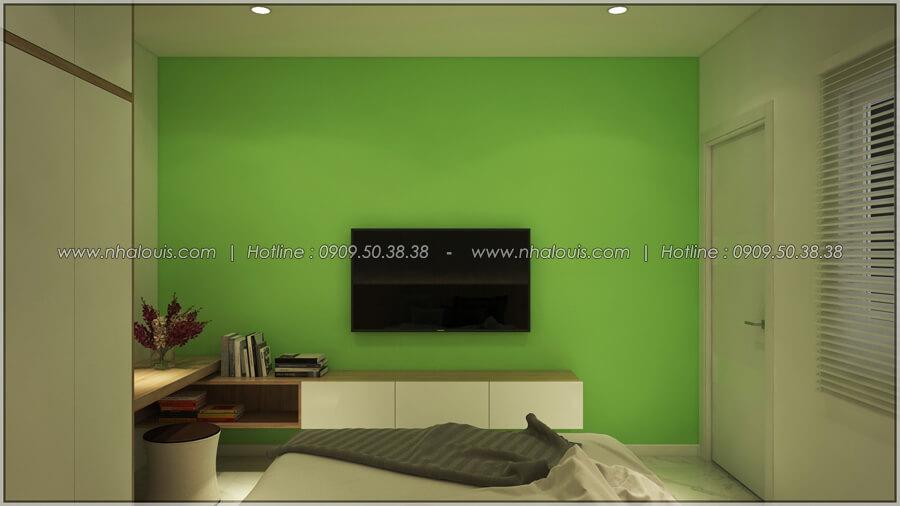 Phòng ngủ Thiết kế nhà cấp 4 đẹp mang phong cách hiện đại ở vùng quê Long An - 15