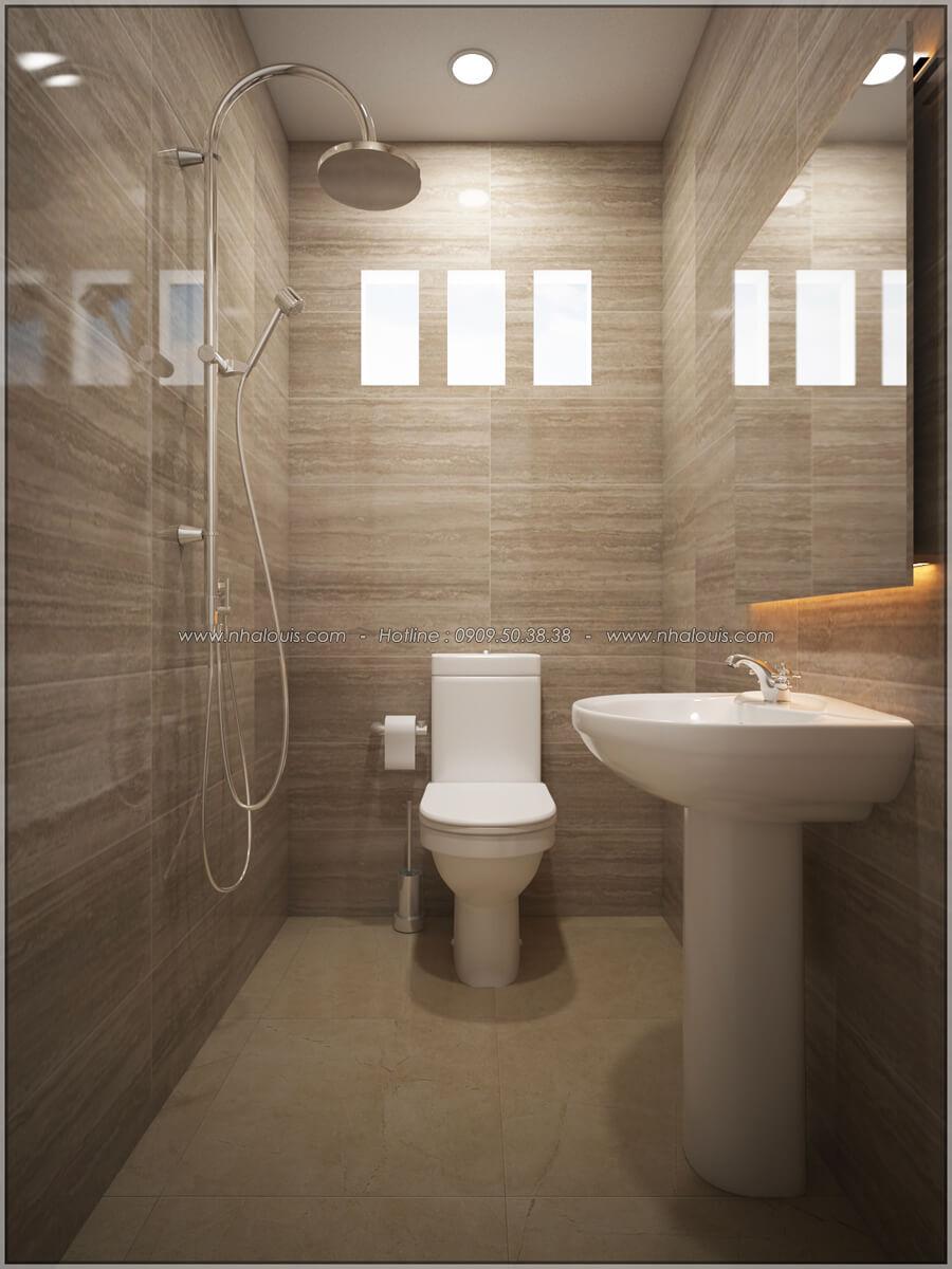 Phòng tắm và WC Thiết kế nhà cấp 4 đẹp mang phong cách hiện đại ở vùng quê Long An - 16