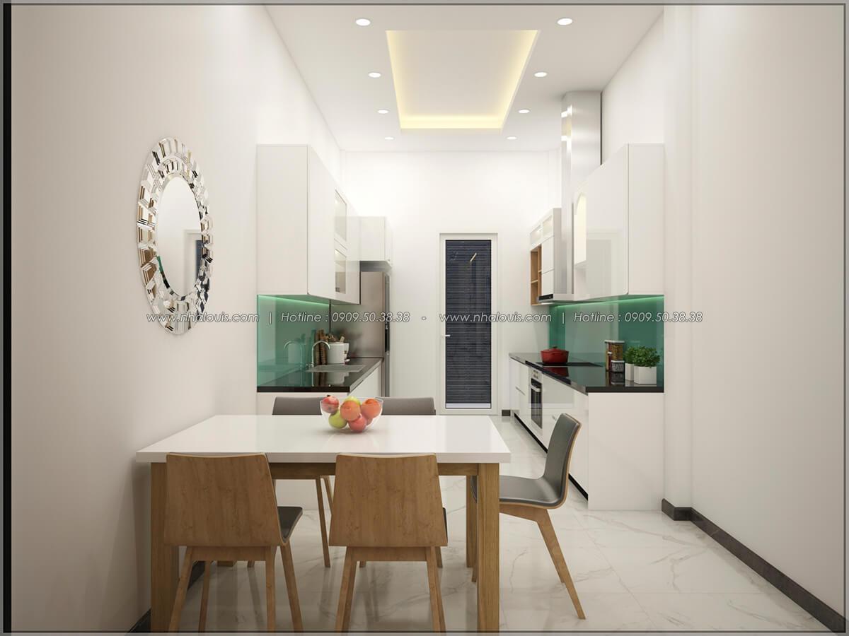 Phòng ăn và phòng bếp Thiết kế nhà mặt tiền 6m tại Quận Bình Tân - 10