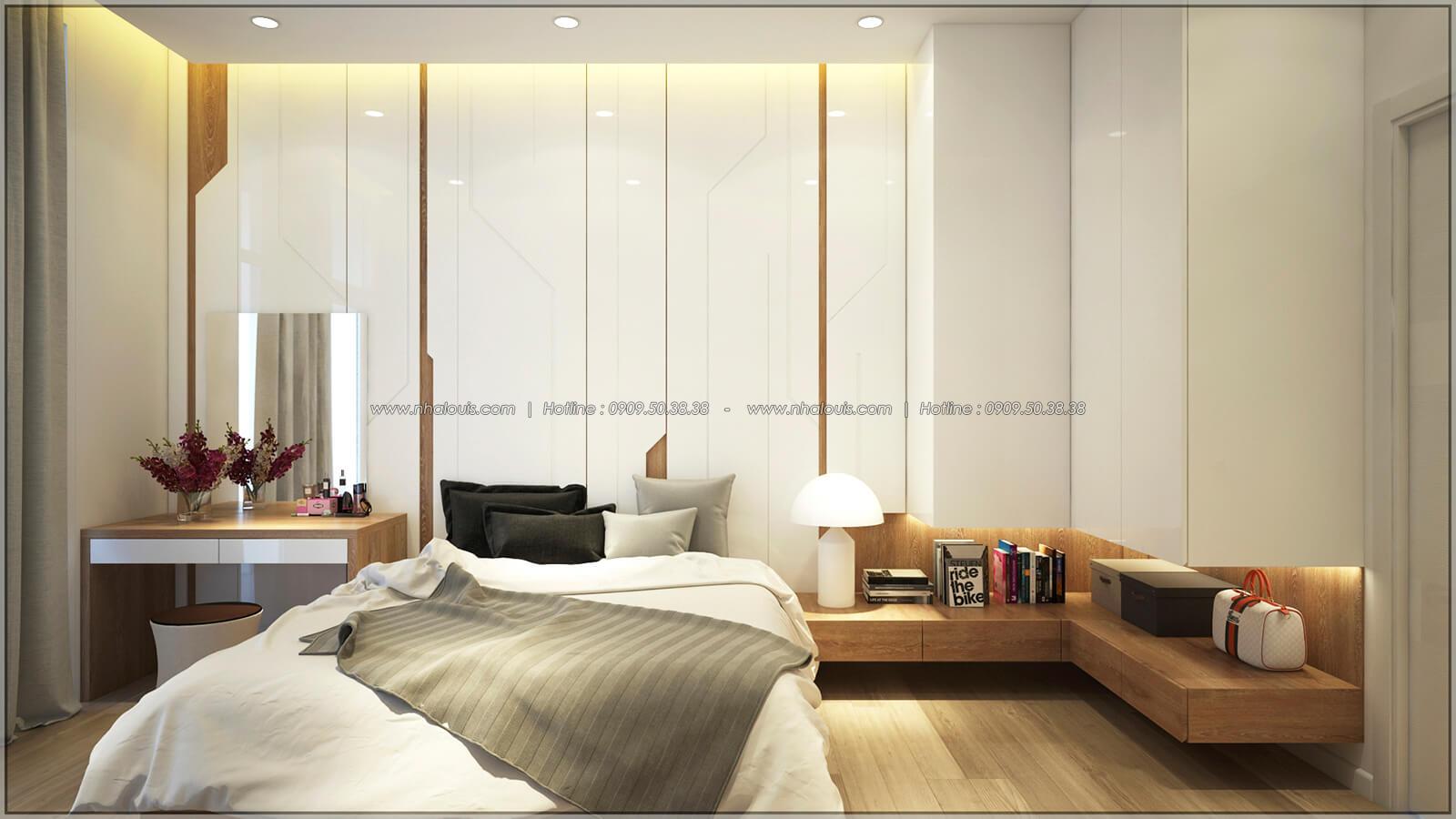 Phòng ngủ Thiết kế nhà mặt tiền 6m tại Quận Bình Tân - 12